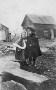 Dorothy and Lenore Maher lived in Lorain with their Grandma Miller (not pictured) in the 1920s after their mother's death.