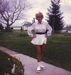 Evelyn Steingass returned to rollerskating when she was in her late 50s.