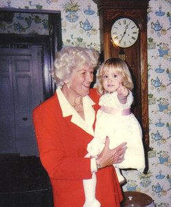 Evelyn Riggs, pictured with her great-granddaughter Angelica in 1996, was a great-great-grandmother.