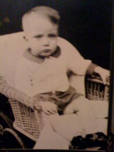 Sonny Baker at age 2.
