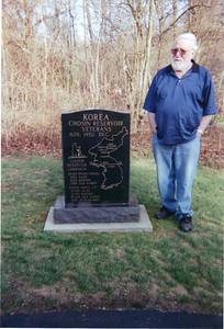 Sonny Baker remembers fellow Korean War veterans at Western Reserve National Cemetery.