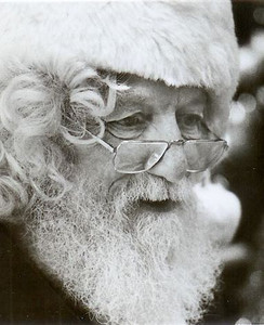 Sonny Baker played Santa Claus in the Seville area for so long that mail addressed to Santa was delivered to his home by the local post office.