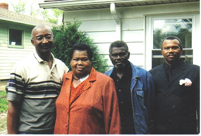 The Edwards siblings in 2008, from the left: J.C. Edwards, Maggie Terry, Enoch Edwards and Bobby Edwards. Their brother, Ezekiel Jr., died in a car crash in 1969. Their sister, Dorothy Lawson, died in 1976.