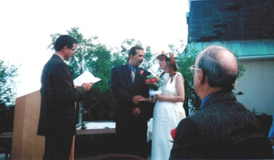 Martin Hasemann married Sylvie Michaud on June 24, 2000, in Canada. (Photo courtesy of the family.)