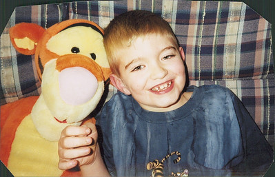 Micah Black, shown with his friend Tigger, loved all things Disney.