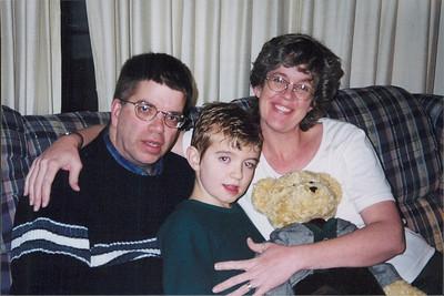 Michael, Micah and Diane Black, cirac 2000.