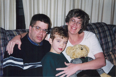 Michael, Micah and Diane Black, cirac 2000.
