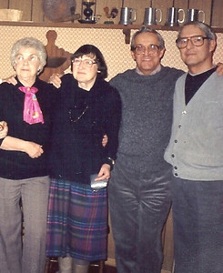 The Arthrell brothers with their wives in 1971. From the left, Rae, Millie, Bob and George. (Photo courtesy of the Arthrell family.)