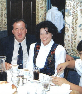 Pat and Elizabeth Ziroli attended the Greater Cleveland Soccer Banquet in 1994. (Photo courtesy of the family.)