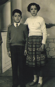 Pat and Bice Ziroli before they immigrated to the United States. (Photo courtesy of the family.)