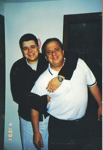 Anthony and Pat Ziroli, horsing around, 10 year ago. (Photo courtesy of the family.)