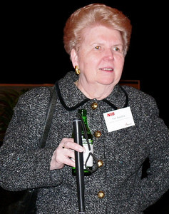 Pat Beattie, at NIB confab in 2007.