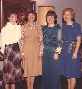 Mason sisters: Mary Lee, Janic, Judy and Pat.