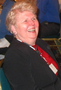Patricia Mason Beattie at a public policy forum presented by National Industries for the Blind and National Association for the Employment of People Who Are Blind  in 2006.