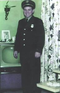 Paul Dziak served as a member of the Sheffield Township Volunteer Fire Department in the 1950s and '60s.