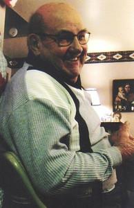 Paul Dziak, Christmas 2009 at his son Jeff's house in Ashland.