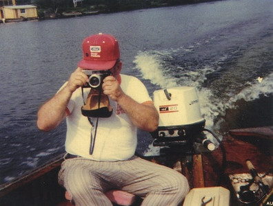 """Paul Dziak traveled to northern Ontario, Canada, at least once a year to fish and, apparently, to take pictures. """"That was Dad,"""" said his son Jeff. """"He was always taking pictures to the point of annoyance."""""""