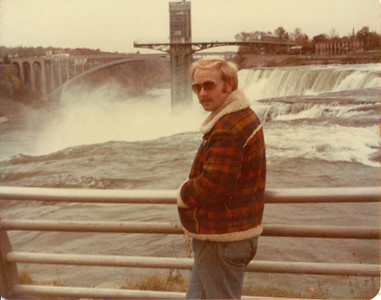 Paul Goode and his wife, Diana (not pictured), spent their honeymoon in November 1980 at Niagara Falls.(Photo courtesy of the family.)