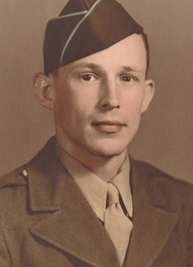 Paul F. Gray served with the Army's 12th Infantry, 4th Division, in Europe during World War II. He left the military with the rank of sergeant, a Purple Heart with Oak Leaf Cluster (which equals two Purple Hearts) and the European Theater ribbon with two bronze stars. (Photo courtesy of the family.)