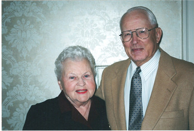 """Lillie and Paul Gray were prominent members of the Wellington community. """"Both my parents gave me a loving, secure, supportive, and nurturing life,"""" said their daughter, Paula Eggleston. Paul died 10 days before what would have been their 73rd wedding anniversary. (Photo courtesy of the family.)"""
