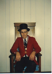 Ray Church was a past Grand Master of the Wellington Masonic Lodge.
