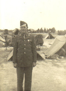 Ray Church served as a radio operator with the Army in Europe during World War II.