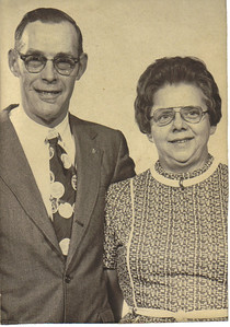 Ray and Millie Church had been married for 38 years before Millie's death on Jan. 10, 1989. (Yes, the date is correct.)