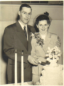 Ray and Millie Church were married Oct. 28, 1950.
