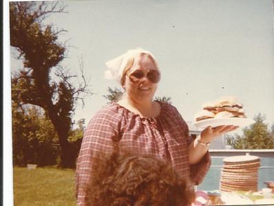 Sharon Borer at a picnic. (Photo courtesy of the family.)
