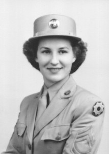 Sophia Boron, later known as Sophia Bedocs, attained the rank of master sergeant with the Women's Army Corps and received the Bronze Star Medal for meritorious achievement while serving in the Southwest Pacific during World War II. (Photo courtesy of the family.)