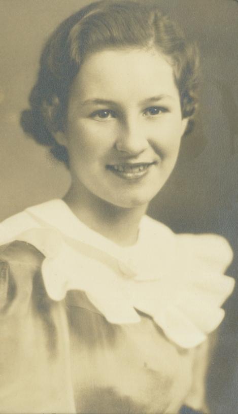 Sophia Boron in the mid-1930s. (Photo courtesy of the family.)