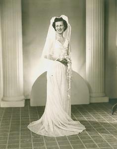 Sophia Boron Bedocs on her wedding day, Feb. 15, 1947. (Photo courtesy of the family.)
