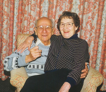 Ernie and Sophia Bedocs during a trip to Boston in 1998.  (Photo courtesy of the family.)