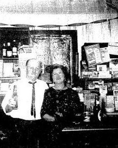 John and Sue Kerchmar at Kerchmar's West Side Café.
