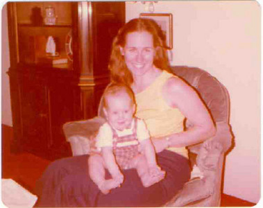 Teddy Witt and baby Jonathan.