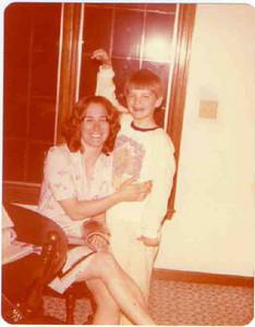 Teddy Witt and son Bill.