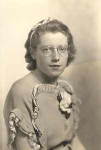 Virginia Bilskey, 1937 graduate of Olmsted Falls High School.