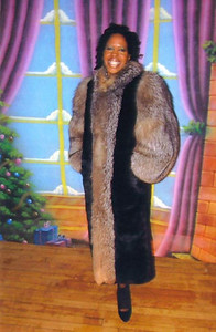 Tippie Moon adored this fur coat.