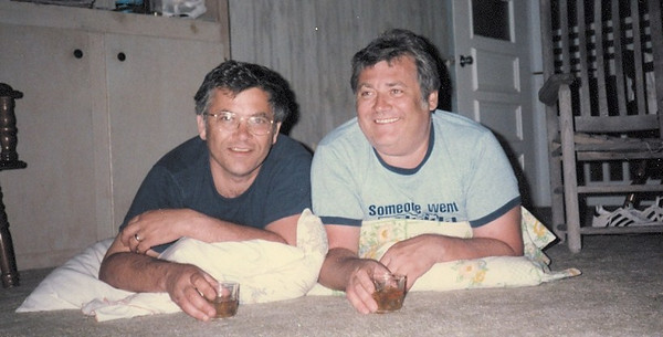 Brothers Gary and Tom Kuns, pictured on vacation in North Carolina.