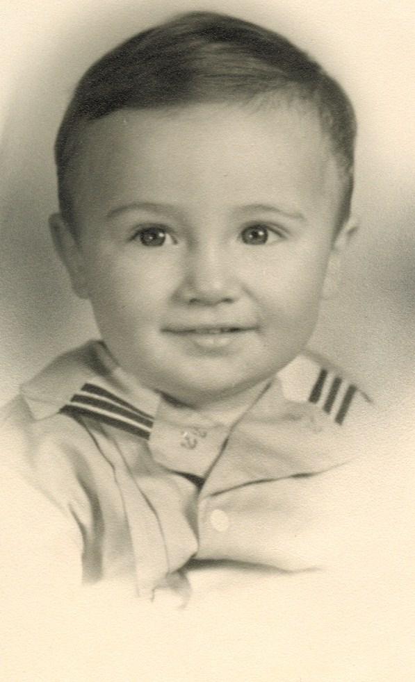 Tom Kuns around age 1.