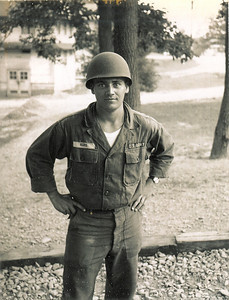 Tom Kuns served as a cook in the Army's National Guard.