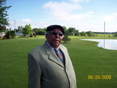 This portrait of Tommie Lee Jackson Sr. was taken by his neighbor Tom Spitzer, in June 2009.