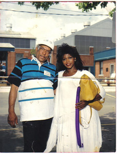 Tommie and Alice Jackson at Elyria Foundry open house about eight years ago.