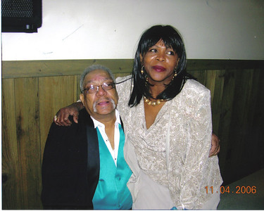 Tommie Jackson and his wife of 41 years, Alice, at daughter's wedding in 2006.