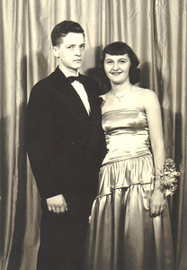 Turk Vargo, a 1948 Elyria High School graduate, took Eleanor Chomi to a Christmas formal in 1949.