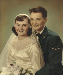 Eleanor Chomi married Turk Vargo on May 12, 1951.