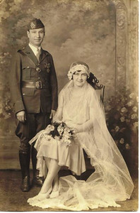 On Aug. 20, 1930, World War I veteran Thomas Mihalis, an Elyria barber for whom Elyria VFW Post 1079 was named, married Velva Cross, an Elyria waitress who became president of the post's ladies auxiliary. The couple dedicated most of their lives to veterans organizations, causes and welfare.