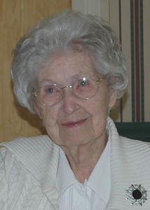 Velva Mihalis at 95.