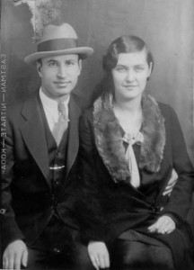 Tom and Velva Mihalis, circa 1930.