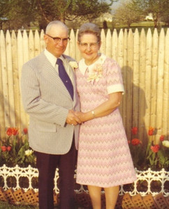 Warren and Margaret Powelson in the 1970s or '80s.